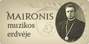 Maironis muzikos erdvje