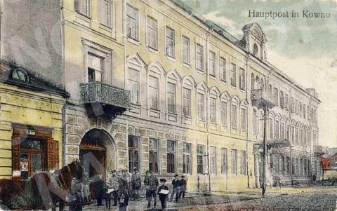 Pašto-telegrafo kontora (I. Kanto g.)