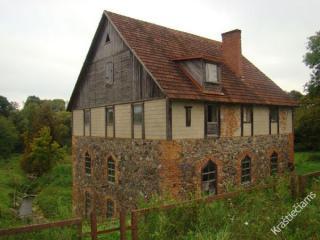 Buvusių popieriaus dirbtuvių pastatas. 2013 m.