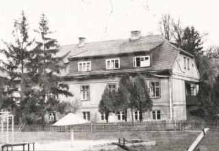 Marvos dvaro rūmai sovietmečiu