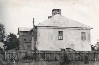 Romainių dvaro pastatas sovietmečiu