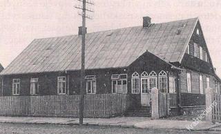Šakių apskrities ligoninė. Apie 1924 m.