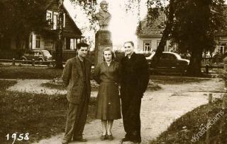 Jono Basanavičiaus aikštė. 1958 m.