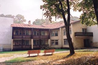 """""""Spalio"""" sanatorijos VII korpusas 1998 m."""