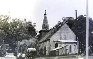 Šakių evangelikų liuteronų bažnyčia 1984 m.