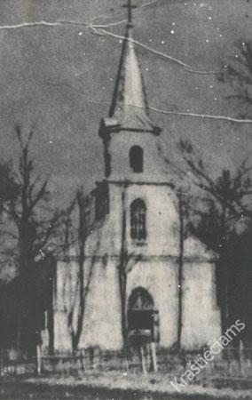 Šakių evangelikų liuteronų bažnyčia. XX a. 4 deš.