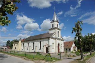 Šakių evangelikų liuteronų bažnyčia 2014 m.