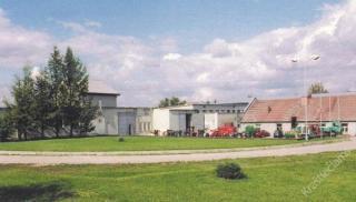 Vaizdas į buvusį Rokų keramikos gamyklos Garliavos cechą. 2003 m.