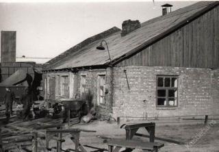 Rokų keramikos gamyklos Garliavos cecho gamybinės patalpos. 1978 m.