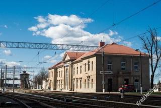 Kaišiadorių geležinkelio stotis. 2015 m.