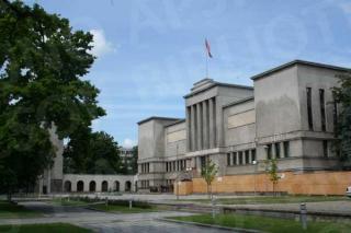 Vytauto Didžiojo Karo muziejus ir jo sodelis 2009 m.