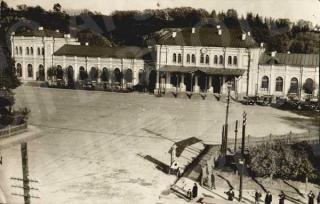 Kauno geležinkelio stotis XX a. 4 deš.