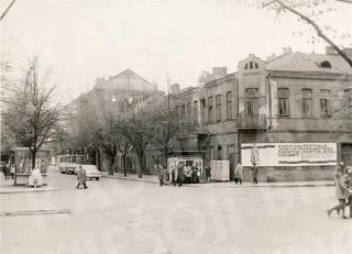 "Buvusio kino teatro ""Triumf"" pastatas 1975 m."