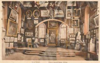 Karo muziejaus interjeras XX a. 3 deš.