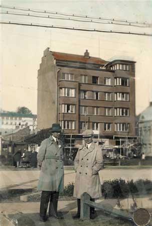 Jono Vailokaičio namas Vienybės aikštėje XX a. 4 deš.