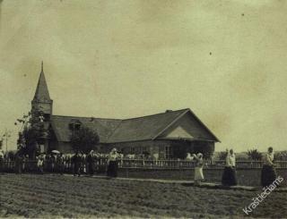 Kaišiadorių bažnyčia. 1927 m.