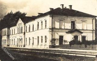 Kaišiadorių geležinkelio stotis. Apie 1930 m.