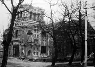 Kalvarijos stačiatikių cerkvės griuvėsiai. 1983 m.