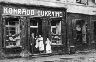 M. Konrado kavinė XX a. 3 deš.