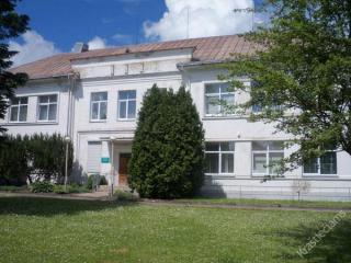 Senasis Šakių ligoninės pastatas. 2014