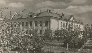 Garliavos vidurinė mokykla. 1953 m.