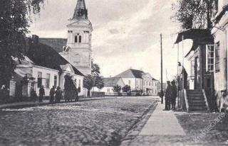 Marijampolės pašto stotis. 1915-1918 m.