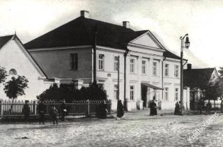Marijampolės pašto stoties kompleksas. XX a. pradžia.