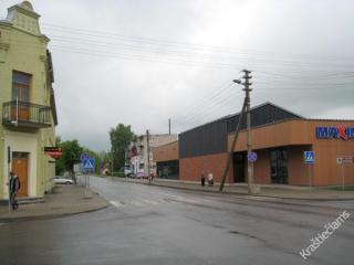 S. Dariaus ir S. Girėno gatvė nuo Laisvės g. link Suvalkų (Lenkija). 2015 m.