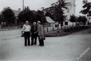 Pergalės aikštė Prienuose. Apie 1953-1954 m.