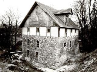 Buvusių popieriaus dirbtuvių pastatas. XX a. 8 deš.
