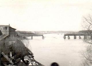 Prienų tiltas 1937 m. kovo mėn.