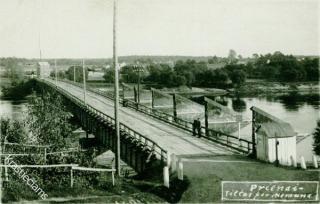 Prienų tiltas iki 1934 m.