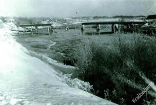Prienų tiltas XX a. 4 deš.