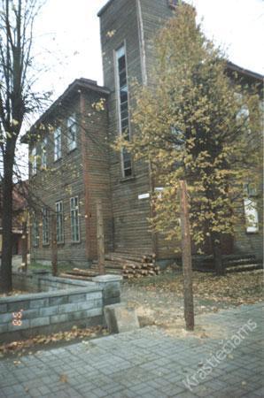 Kazlų Rūdos bibliotekos pastatas XX a. 9 deš.