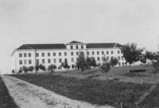 Vilkaviškio kunigų seminarija. Apie 1937 m.