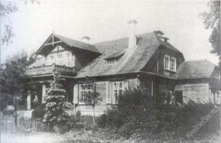 Strebeikių dvaras. 1924 m.