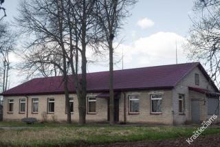 Buvusios Kaišadorių gimnazijos vieta. 2015 m.