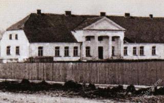 Vilkaviškio dvaras. Apie 1930 m.