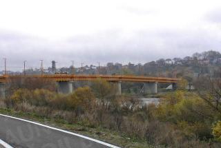 Dabartinio tilto vaizdas. 2009 m.