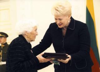 LR Prezidentė Dalia Grybauskaitė ir Danutė Kijauskienė